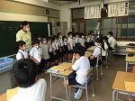 6年生教室まで来てくれました